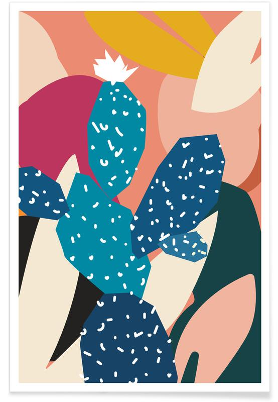 , Cacti Poster