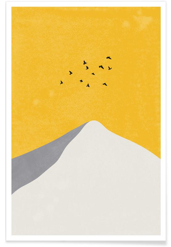 , Mountain Peak Poster