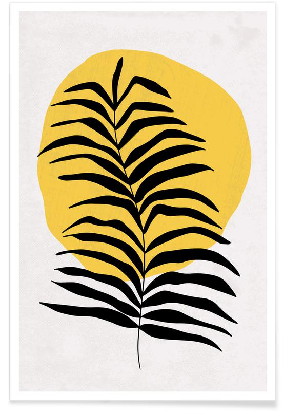 , Leaves in the Sun Poster