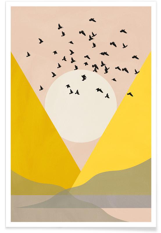, Sunflock -Poster