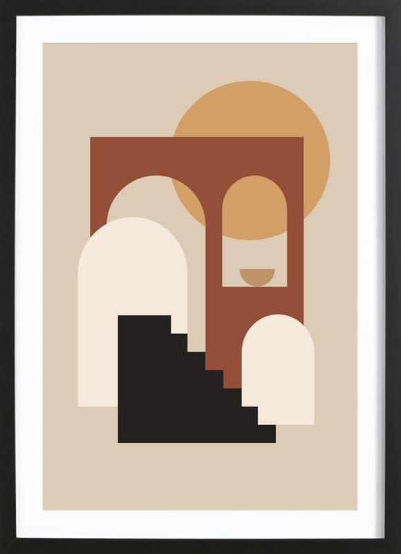 Porch ingelijste print