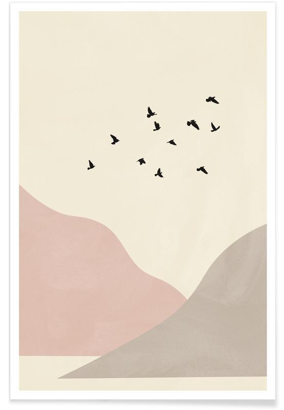 , Flock Of Birds I poster