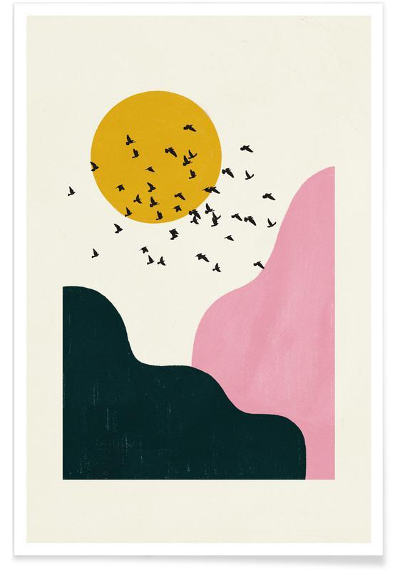 , Flock Of Birds II poster