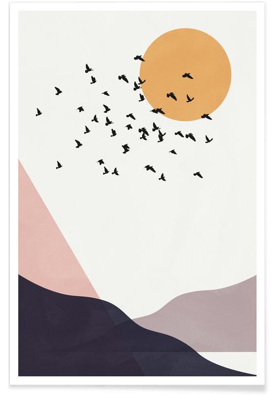 , Flock Of Birds III -Poster