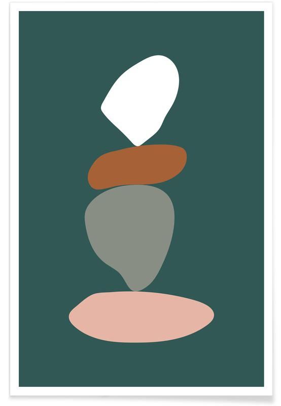 , Stack III -Poster