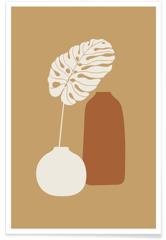 Feuilles & Plantes, Vase I affiche