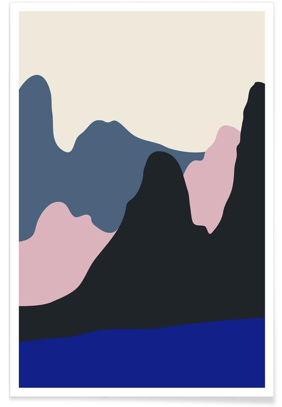Montagnes, Hidden Valley affiche