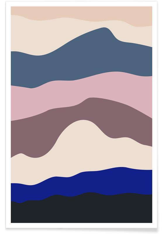 Montagnes, Blue Progression affiche