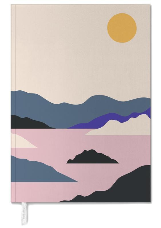 Berge, Abstrakte Landschaften, Sunup -Terminplaner