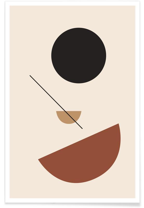 , Half Sphere Plakat