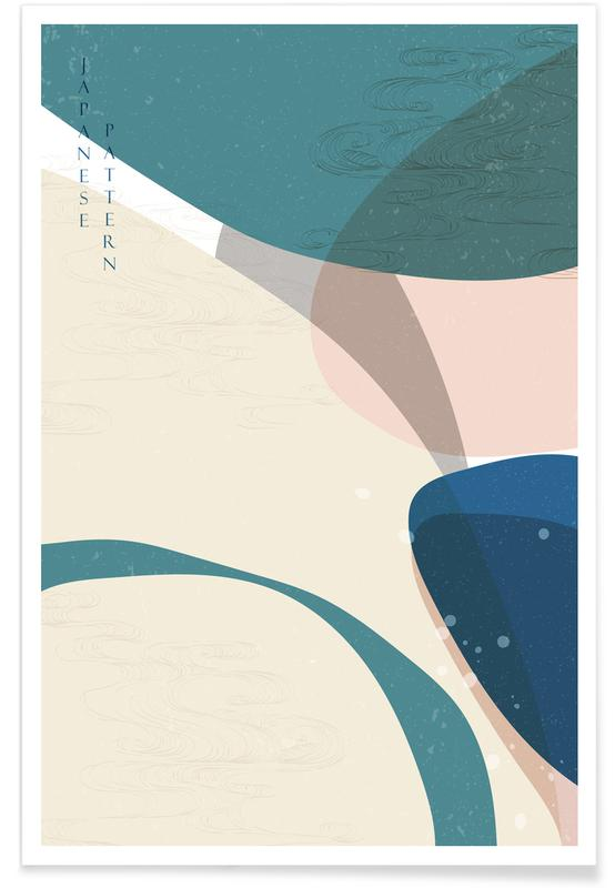, Japanese Pattern I poster