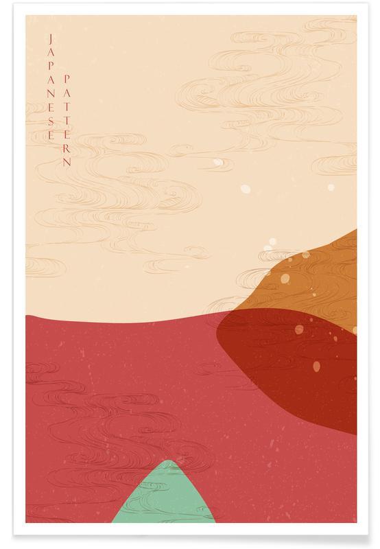 , Japanese Pattern III affiche