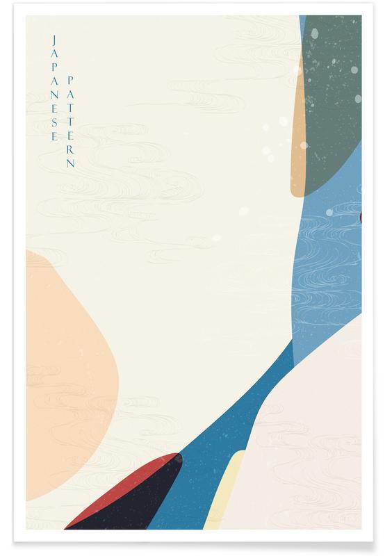 , Japanese Pattern II affiche