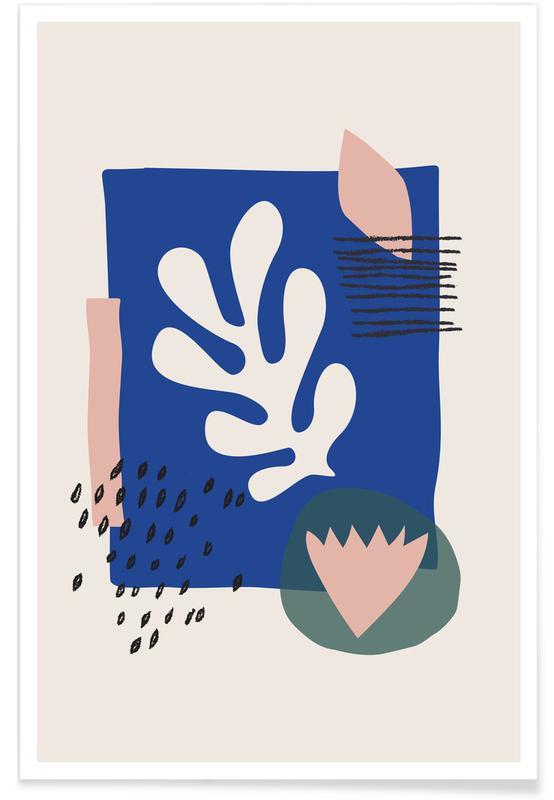 Feuilles & Plantes, Spring affiche