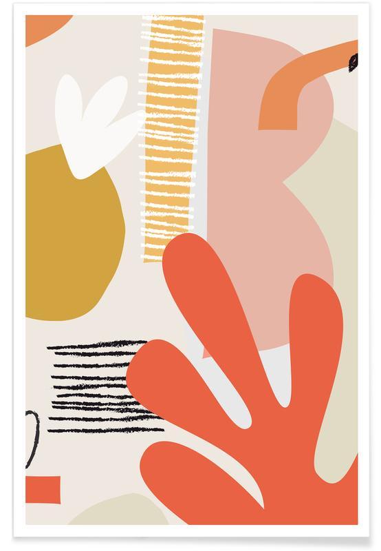 Feuilles & Plantes, Garden II affiche