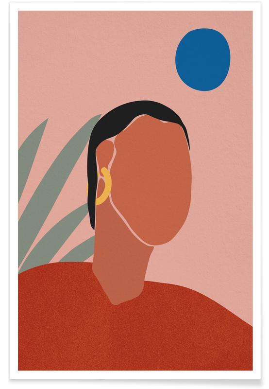 Portrætter, Portrait Plakat