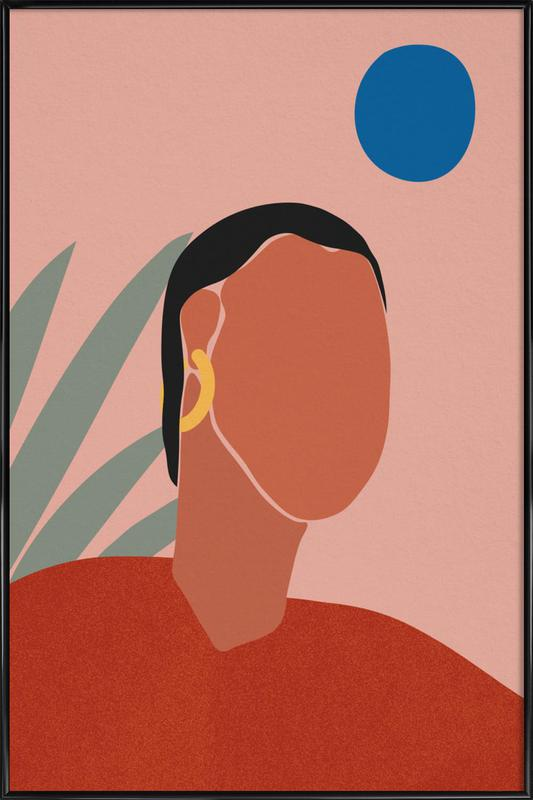 Portrait Poster i standardram