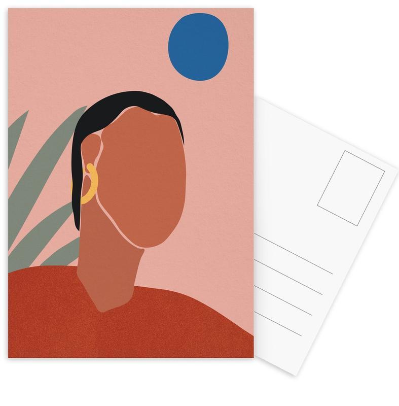 Portrait -Postkartenset