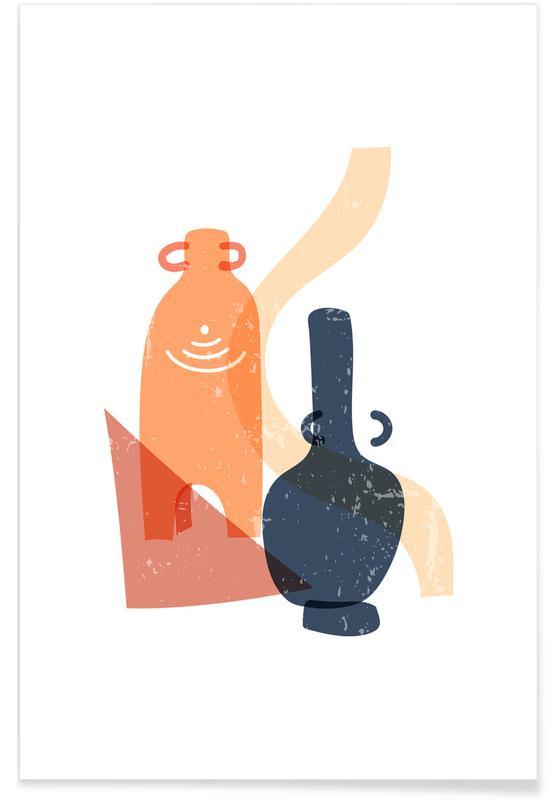 , Terracotta Pots affiche