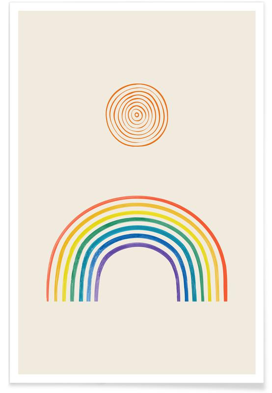 Kunst voor kinderen, Noon poster