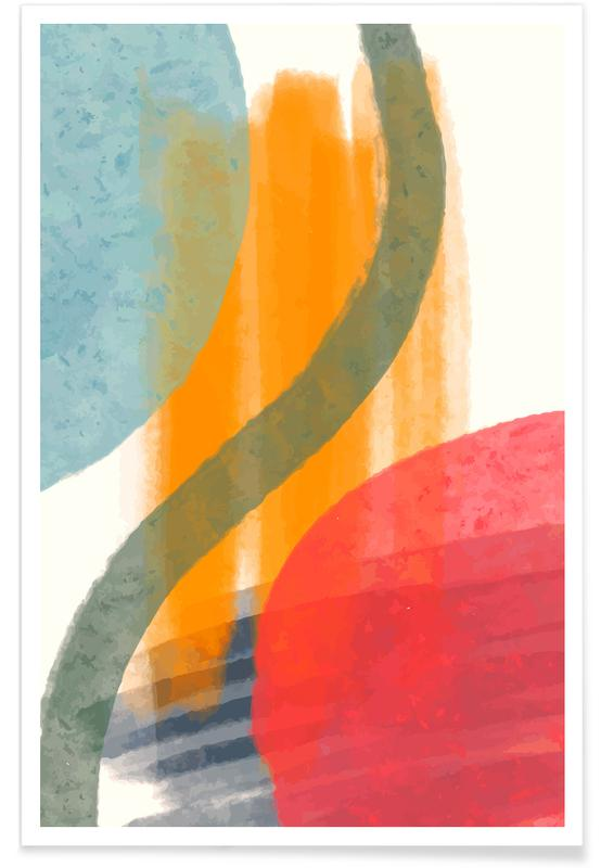 , Warm and Cool Light -Poster