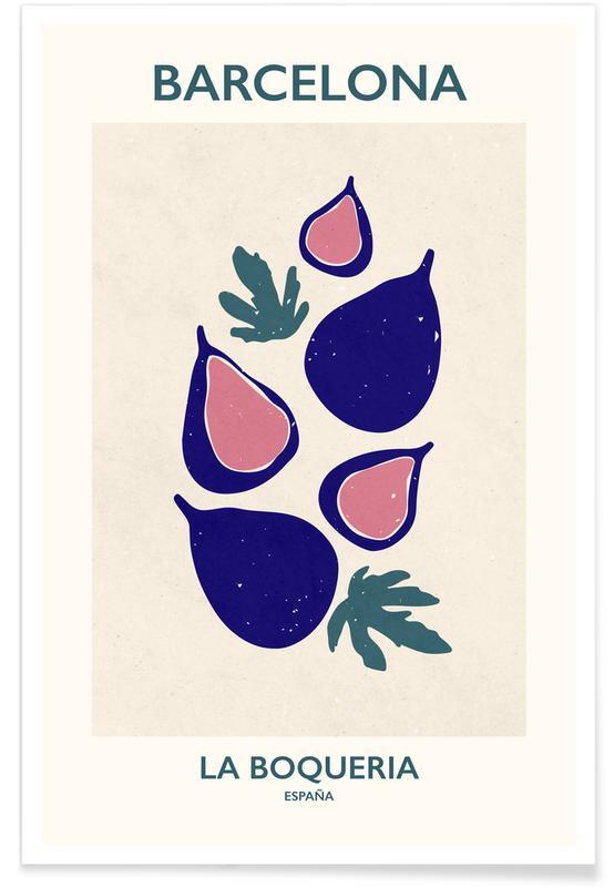 , La Boqueria -Poster