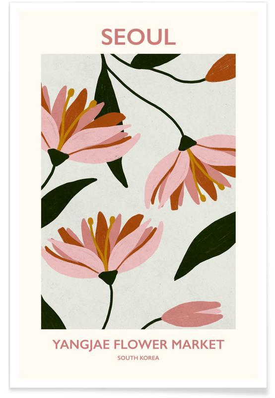 , Yangjae Flower Market poster