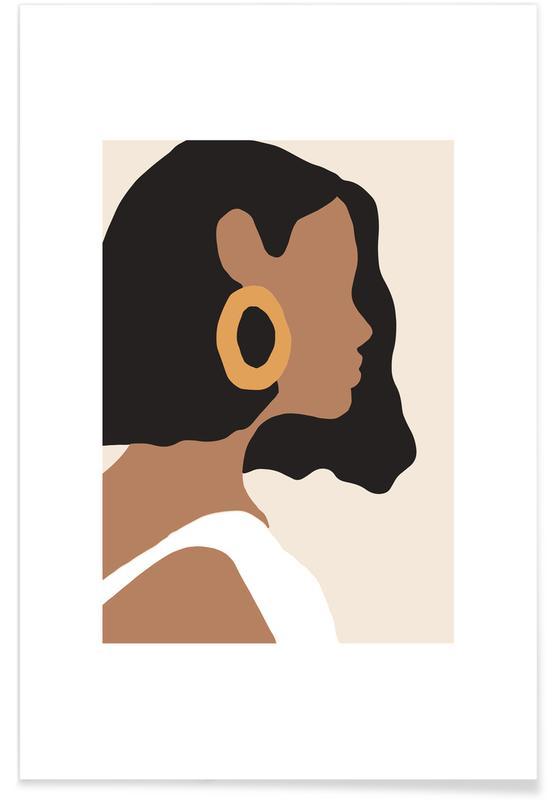 Portrætter, Hoops Plakat