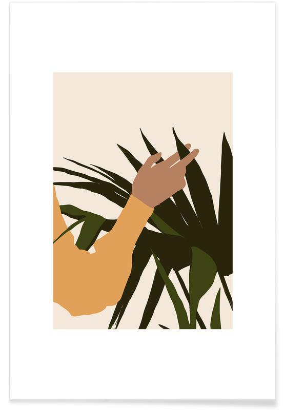 Feuilles & Plantes, Tactility affiche