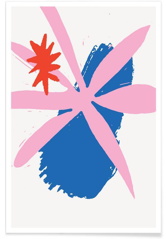 , Radiant Flower poster