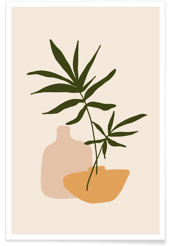 Blade & planter, Vases Plakat