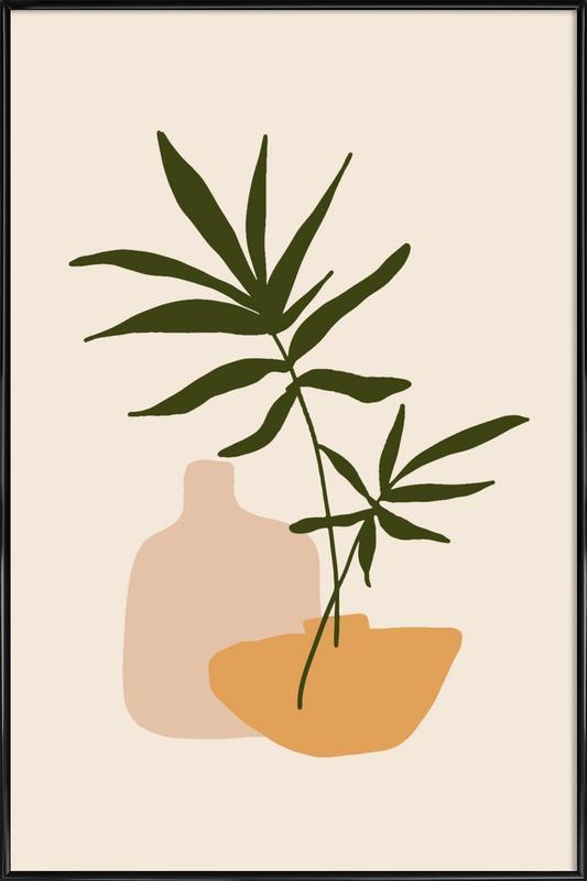 Vases -Bild mit Kunststoffrahmen