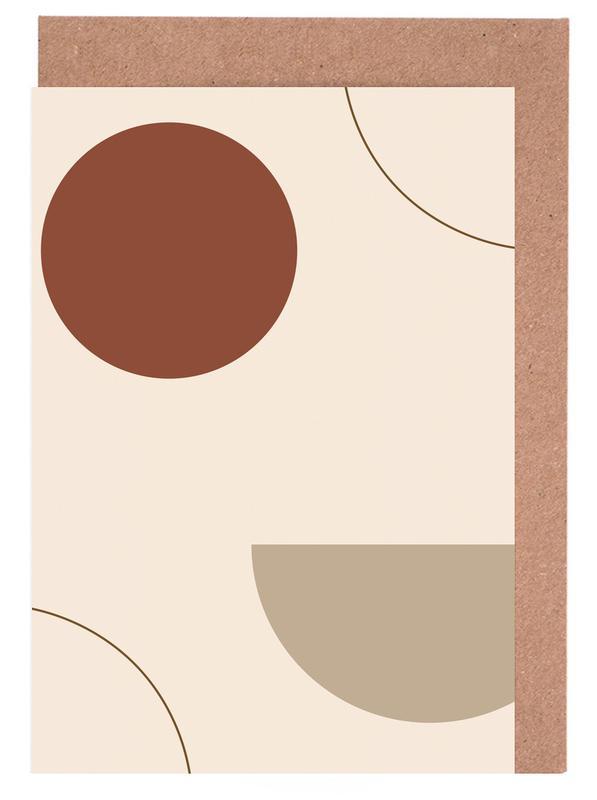 Radius -Grußkarten-Set