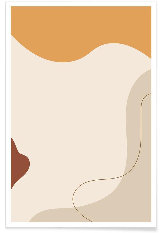 , Curvature póster