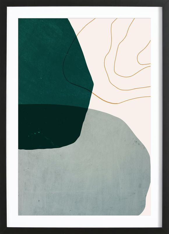 Interplay Poster i träram