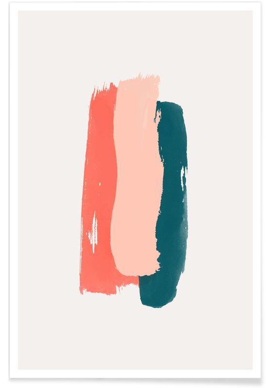 , Brushstroke I Plakat