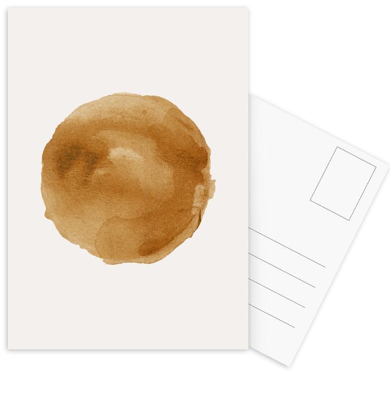 Golden -Postkartenset
