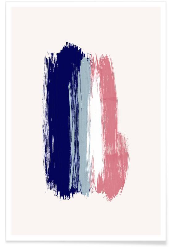 , Brushstrokes V póster
