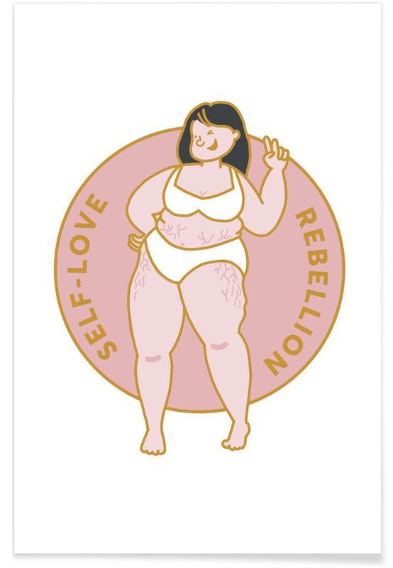 Motivatie, Self Love poster