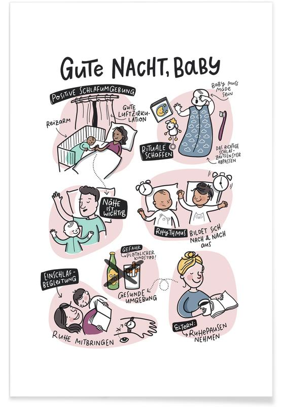 Geburt & Baby, Motivation, Schlaf -Poster