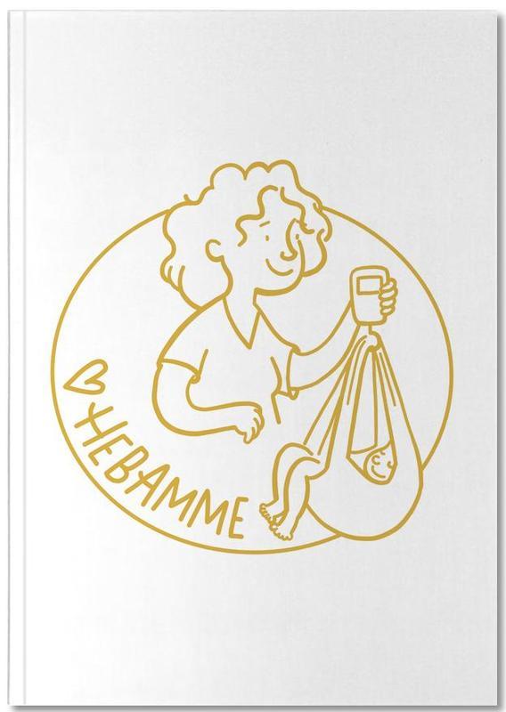 Fête des mères, Mierau Hebamme Gold Notebook