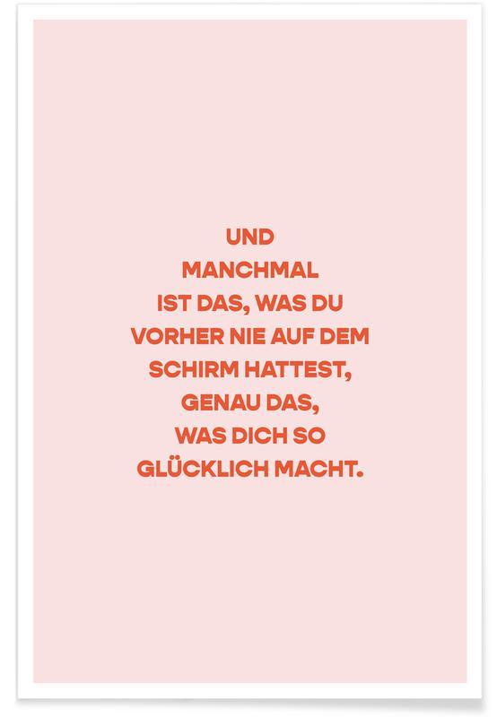 , Erkenntnis affiche