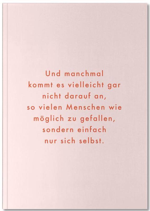 , Selbstliebe Notebook