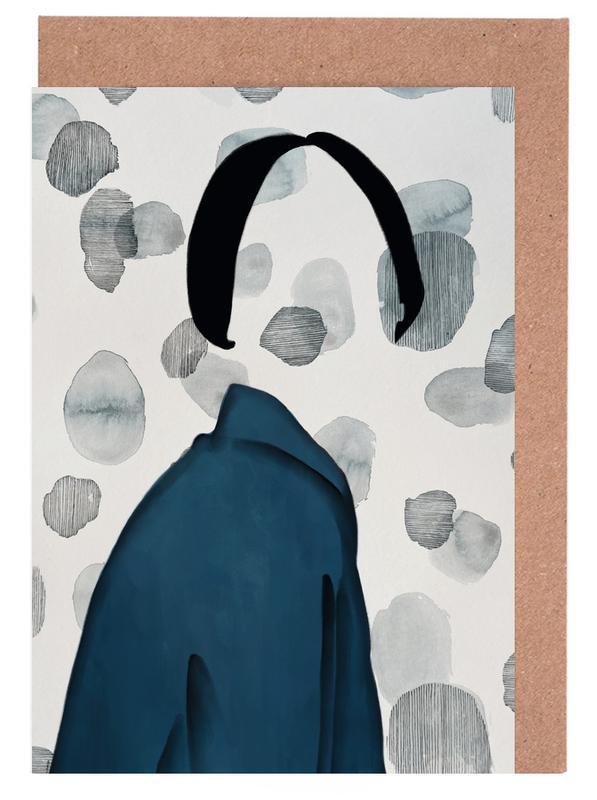 Portraits, Fashion Illustrations, Void Greeting Card Set
