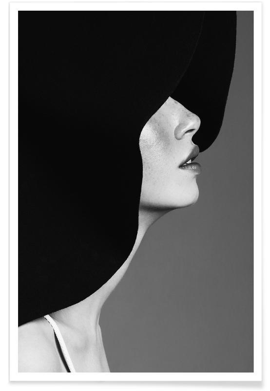 Photos de mode, Noir & blanc, In Vogue affiche