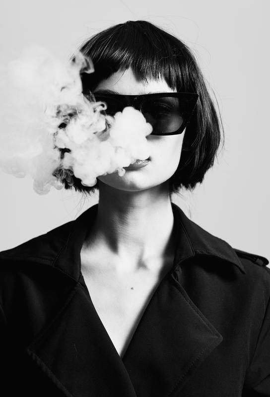 Smoke -Acrylglasbild
