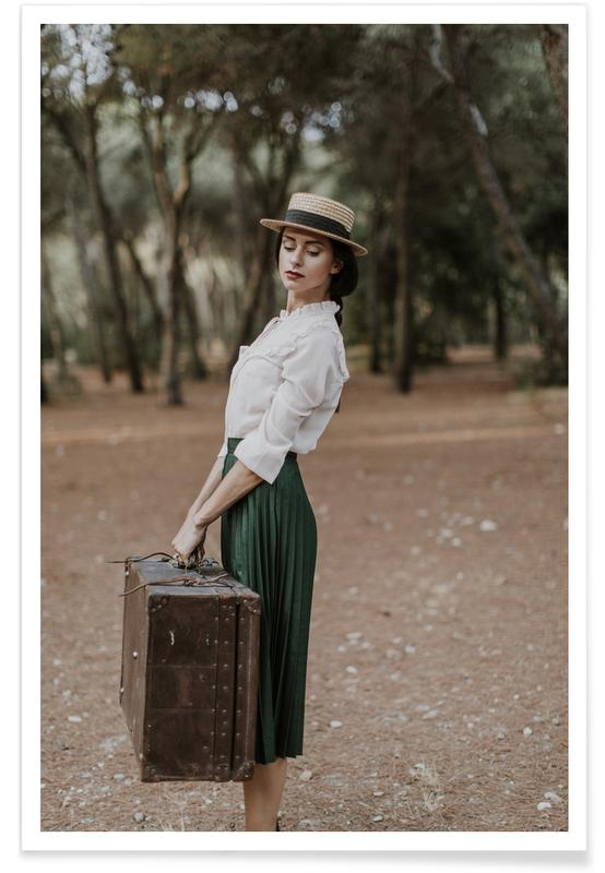 Fashion Photography, Dressed for Adventure Poster