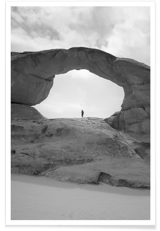 Wüsten, Jordan 07 -Poster