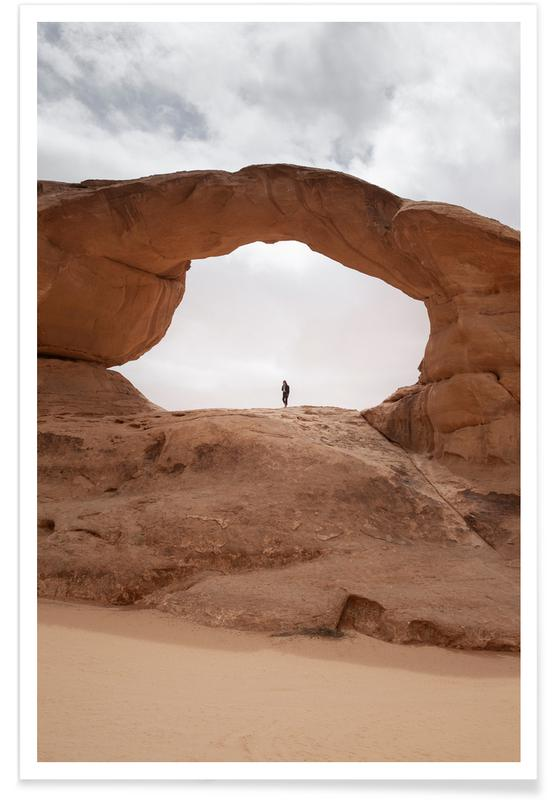Wüsten, Jordan 06 -Poster