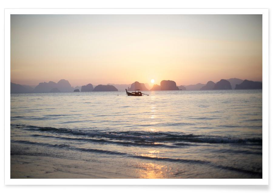 Océans, mers & lacs, Couchers de soleil, Ko Yao Noi Sunset affiche